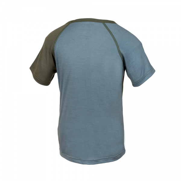 b51cdb79 T-skjorte i ull med Mike mus motiv fra Janus - Ulliver.no